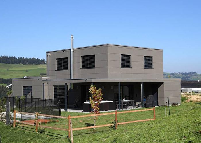 Flachdach markus zemp bedachung spenglerei ag for Einfamilienhaus mit flachdach